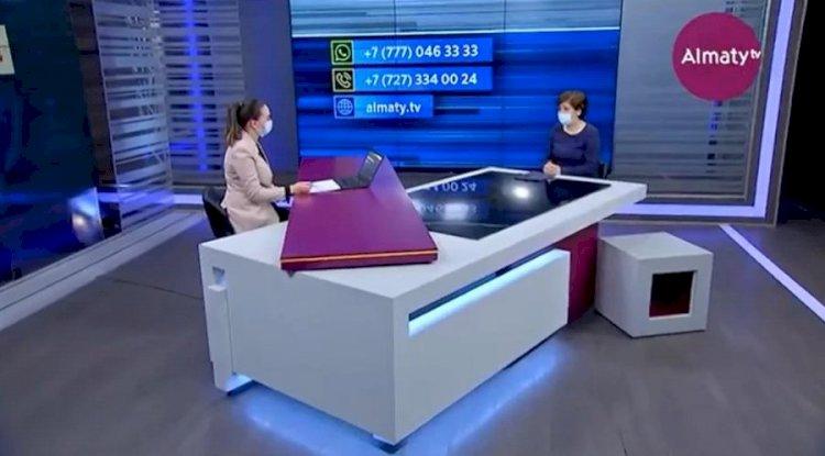 Ляззат Жылкыбаева ответила на вопросы алматинцев