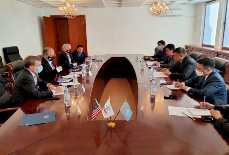 Казахстан и США обсудили сотрудничество в сфере официальной помощи развитию