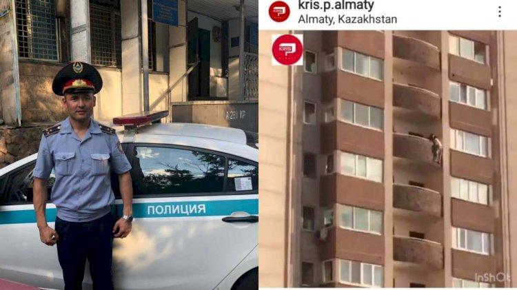 Лучшего участкового инспектора представили в Алматы