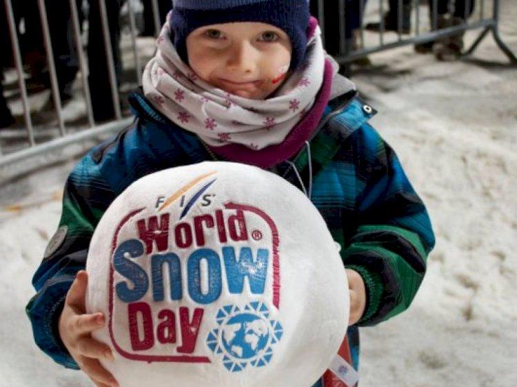 Сегодня отмечается Всемирный день снега
