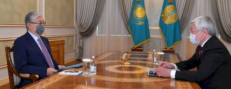 Токаев заслушал отчет об итогах развития Жамбылской области в 2020 году