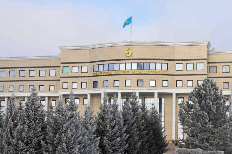 Главы МИД Казахстана и Китая обсудили ситуацию на границе