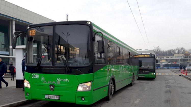 Полиция Алматы проводит отработку «Автобус»