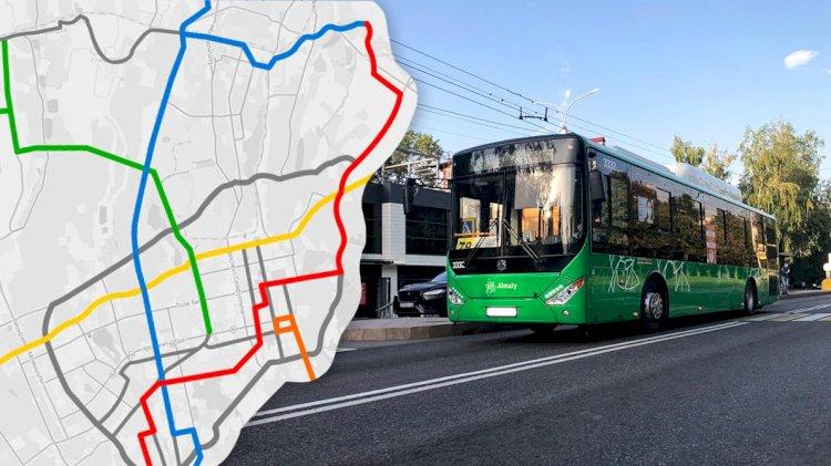 Где пройдут и как будут выглядеть новые линии BRT в Алматы