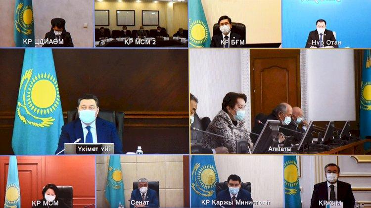 Мамину презентовали доработанный алфавит казахского языка