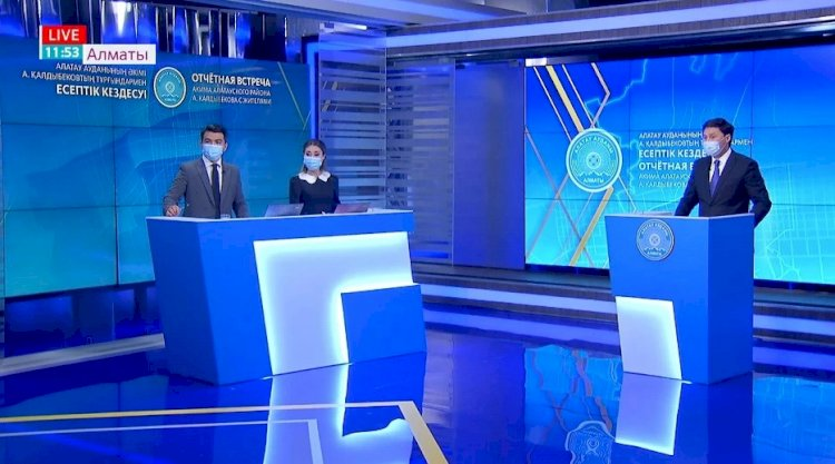 В Алматы стартовали отчетные встречи акимов районов с жителями