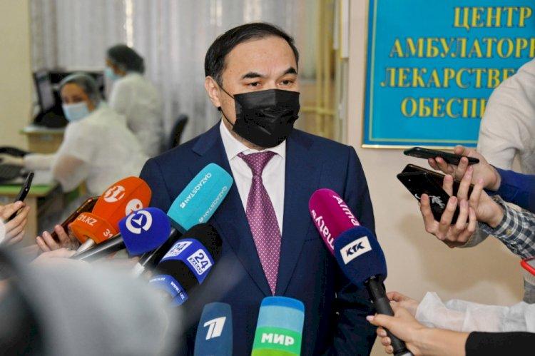 Ержан Бабакумаров: Вакцинация поможет преодолеть пандемию