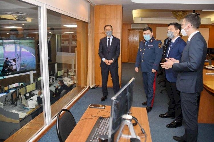 Бакытжан Сагинтаев: Цифровизация — наиболее эффективное средство борьбы с преступностью