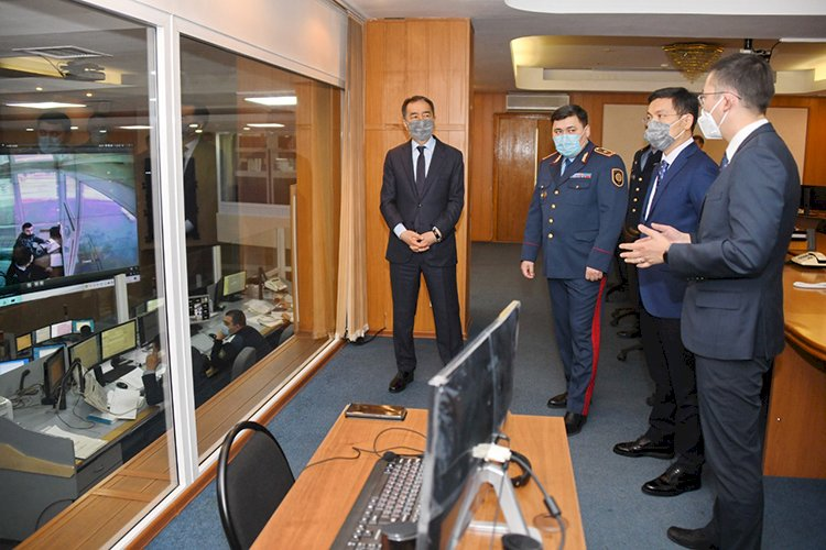 Бакытжан Сагинтаев:  Цифровизация – наиболее эффективное средство борьбы с преступностью
