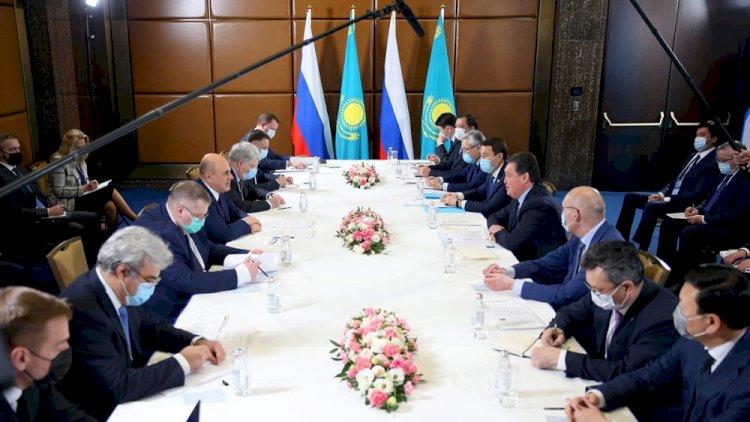 Премьеры Казахстана и России обсудили вопросы взаимодействия в ЕАЭС