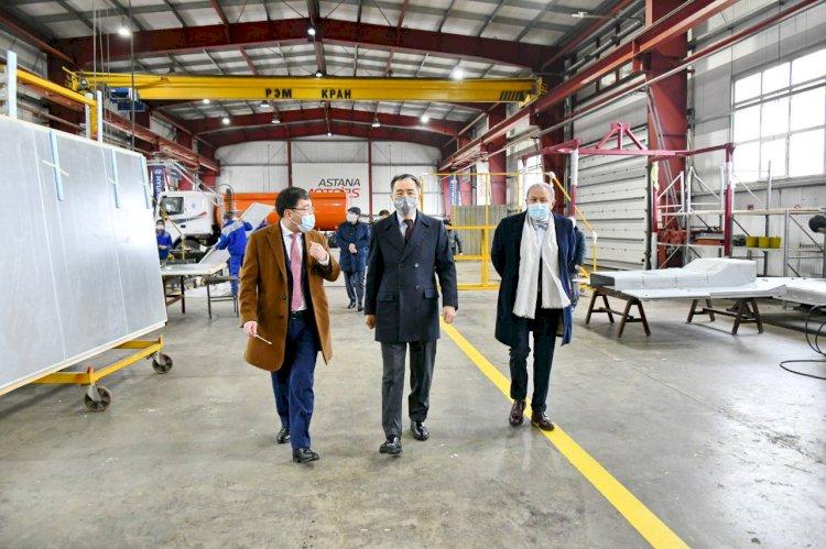 Сагинтаев дал старт проекту по увеличению мощности завода Hyundai Trans Auto