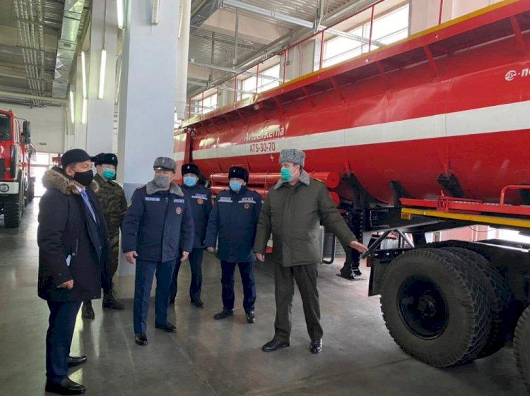 Работу пожарных частей проверили в Алматы