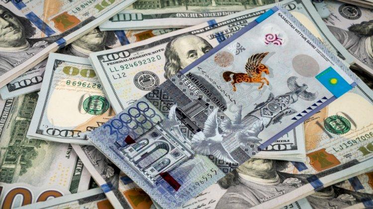 Как изменился за две недели курс тенге к доллару