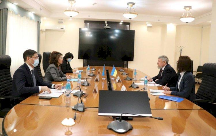 Аида Балаева встретилась с Послом Украины