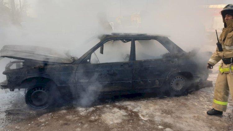Более 2200 автомобилей сгорело в Казахстане в прошлом году
