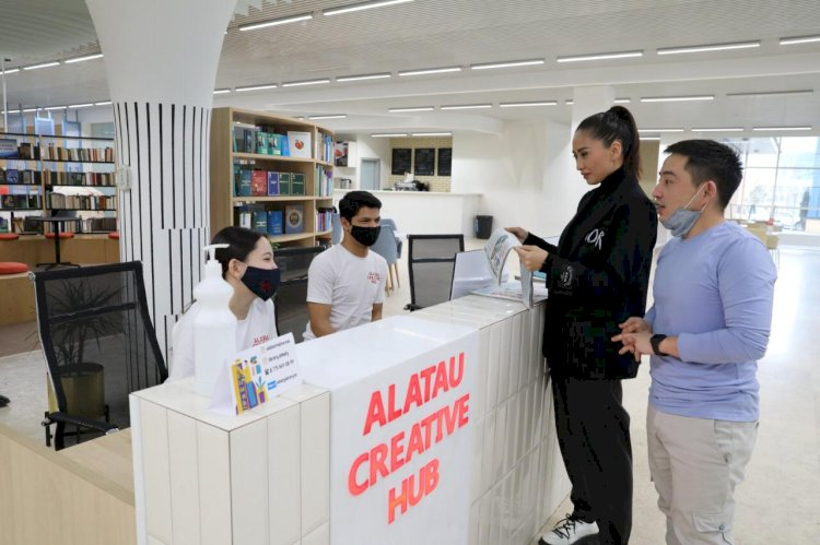 Новый центр притяжения молодежи создан в самом молодом районе Алматы