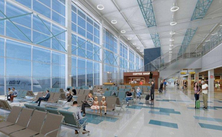 Каким будет новый терминал аэропорта Алматы