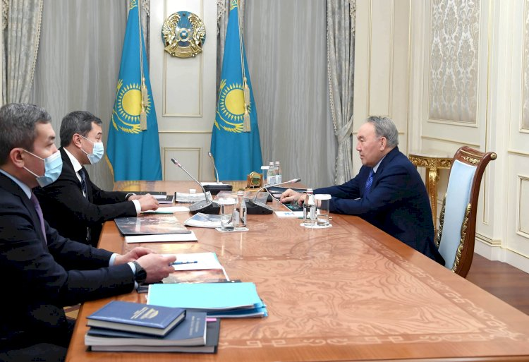 Нурсултан Назарбаев принял Акана Сатаева