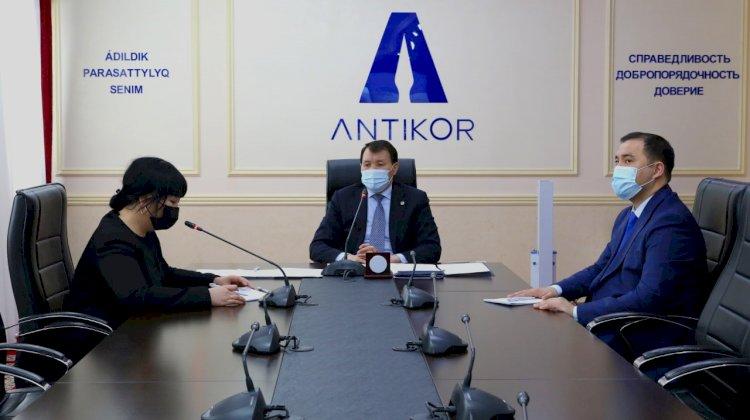 Шпекбаев рассказал зарубежным экспертам о правоприменении новелл антикоррупционного законодательства