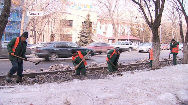 В Алматы с начала года проведена очистка 987,9 км арычных сетей