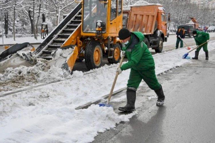 Аким Алматы держит на личном контроле работы по уборке снега