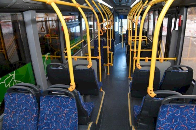 Новые автобусы вышли на маршруты в Алматы