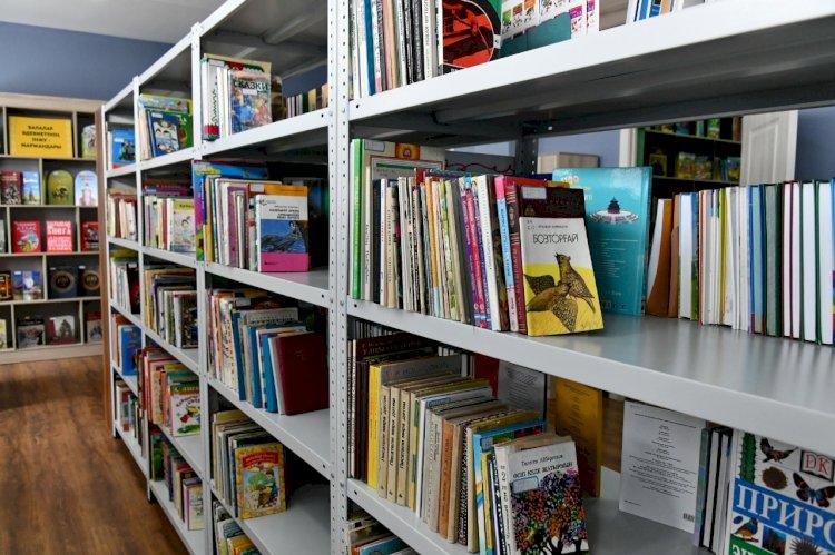 Детская библиотека им. И. Крылова открылась после модернизации в Алматы