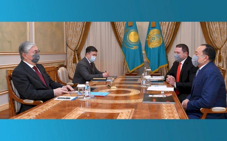 Президент Казахстана принял Вячеслава Кима и Михаила Ломтадзе