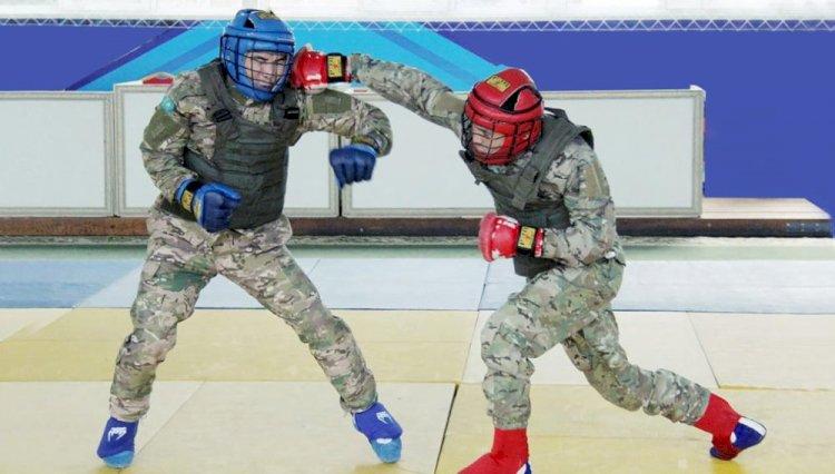В Алматы завершился чемпионат Вооруженных сил по армейскому рукопашному бою