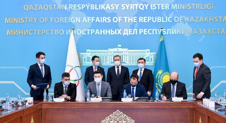 Казахстан в качестве председателя СВМДА передал гуманитарную помощь ряду стран