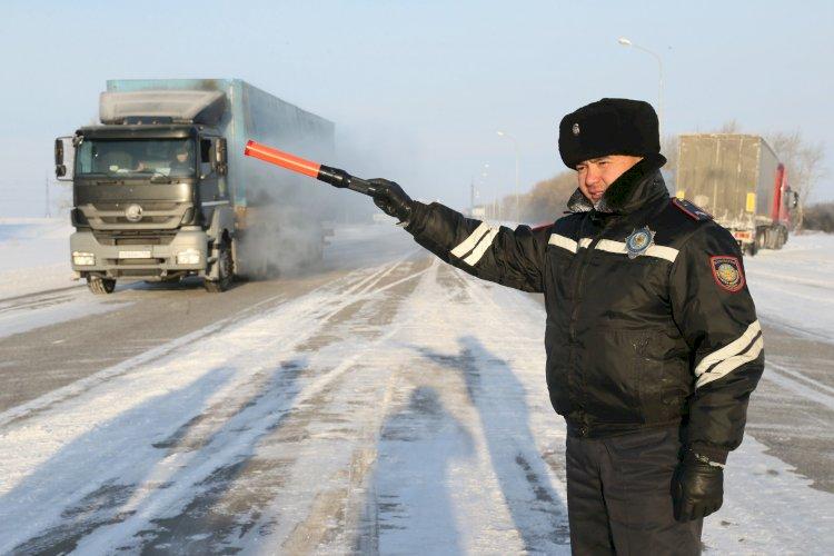 В двух областях и столице РК ограничили движение автотранспорта