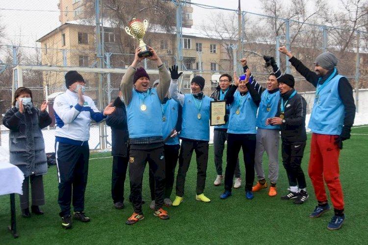 В Алматы прошел турнир по мини-футболу среди учреждений культуры