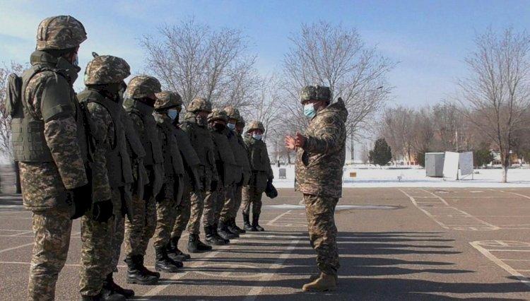 С 1 марта продолжили утилизацию боеприпасов в Арыси