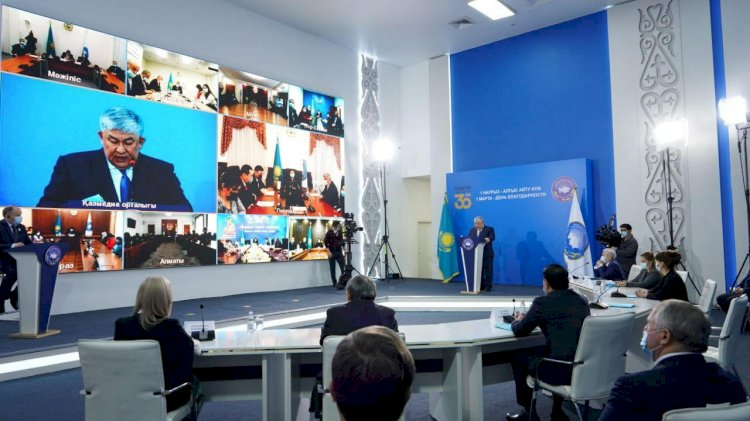 Крымбек Кушербаев принял участие в «круглом столе» Ассамблеи народа Казахстана