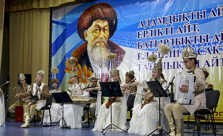 Гомер казахской степи