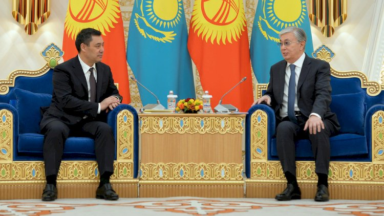 Главы Казахстана и Кыргызстана выступили с совместным заявлением