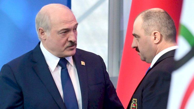 Лукашенко уволил своего сына