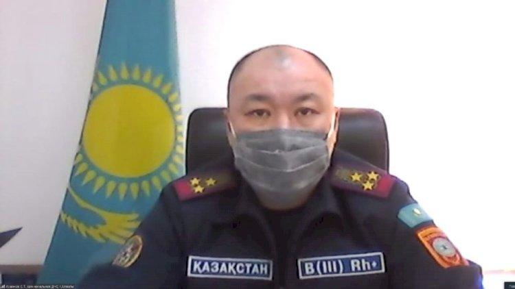 Контроль за противопожарной безопасностью усилен в отопительный период в Алматы