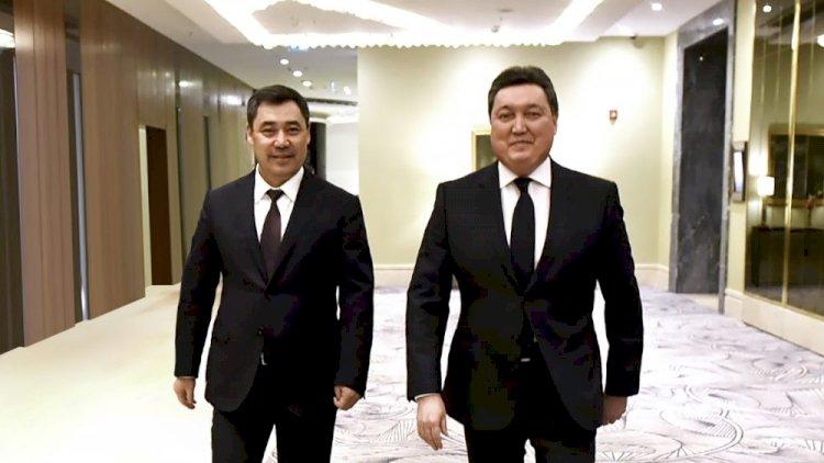 Аскар Мамин провел переговоры с Президентом Кыргызстана