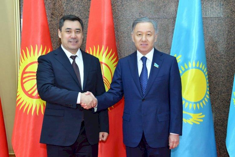 В Мажилисе состоялась встреча Нурлана Нигматулина с Президентом Кыргызстана