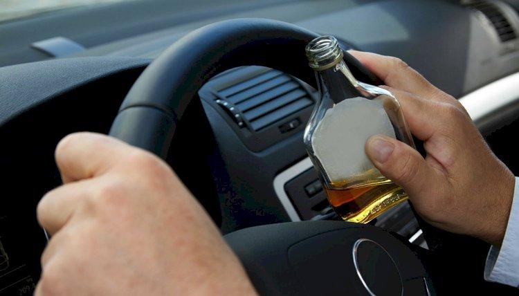 Пьяного и лишенного прав водителя арестовали на два месяца в Каскелене