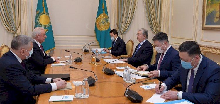 Президент Казахстана встретился с председателем Коллегии ЕЭК