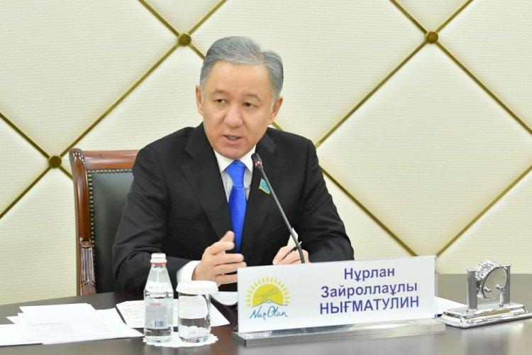 Нурлан Нигматулин предложил создать межпартийный совет при Мажилисе