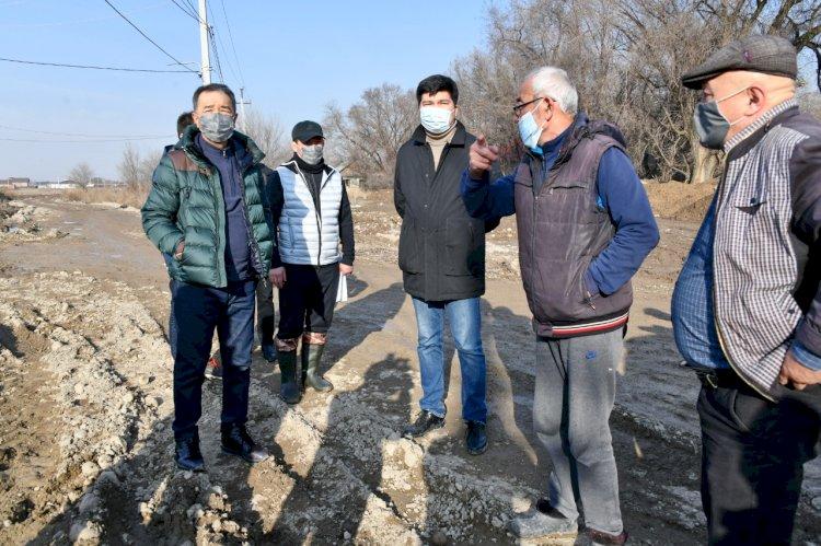 В микрорайонах Турксибского района появится центральное водоснабжение