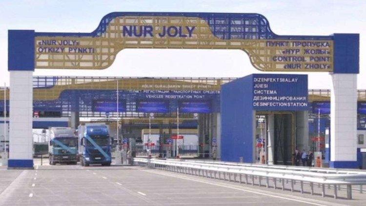 Казахстан закроет пункт пропуска «Нур Жолы» на границе с Китаем