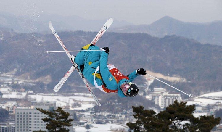 Лыжники улетели
