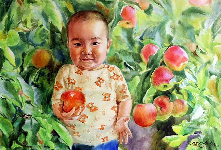 В яблочном городе