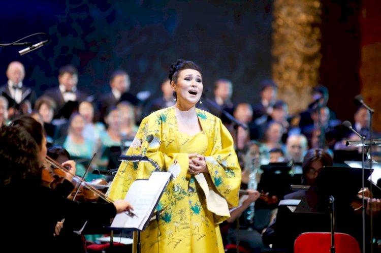 Оперная дива из Казахстана удостоена международной премии