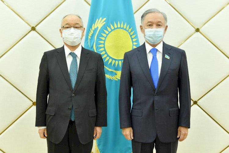Нурлан Нигматулин принял главу японской дипмиссии Тацухико Касаи