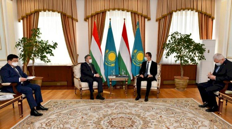 Упрощение визового режима ЕС для казахстанцев обсудили с главой МИД Венгрии